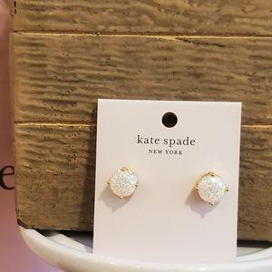 Kate Spade ♠️ Glitter Opal 🌌Earrings ⭐NWT